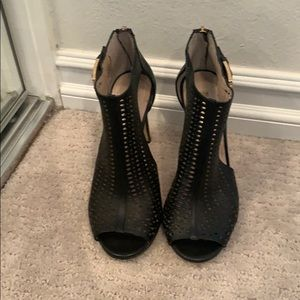Louise et Cie open toe booties